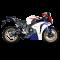 Akrapovic Honda CBR1000RR 12-16 Racing Line 4/2/1 hexagonal lyddæmper i carbon