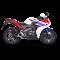 Akrapovic Honda CBR125R 11-16 Racing Line 1/1 hexagonal lyddæmper i carbon