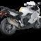 Akrapovic BMW K1300 S 09-15 Slip-On Line hexagonal lyddæmper i titanium (EC godkendt)